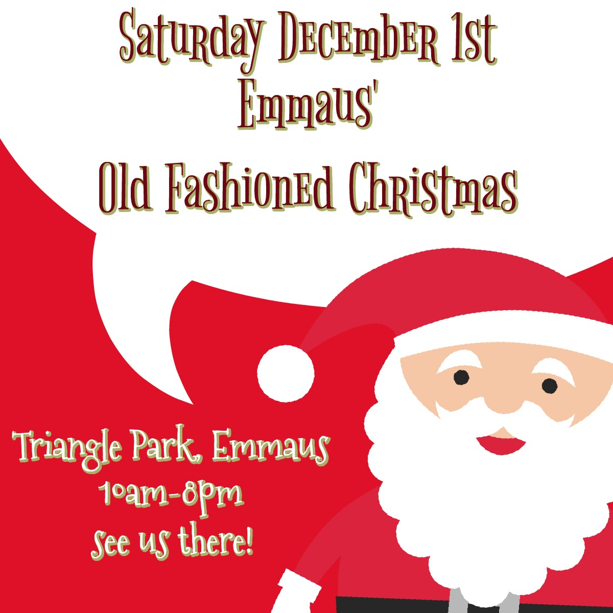 Emmaus Old Fashioned Christmas 2018