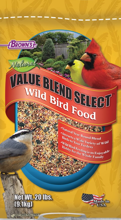Brown's Natural Wild Bird Food Herbeins Garden Center Emmaus Lehigh Valley