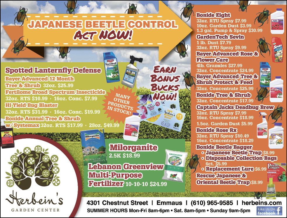 Herbeins Garden Center Ad for week of 6/19-6/25/2019